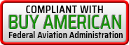 Compliant with FAA Buy American