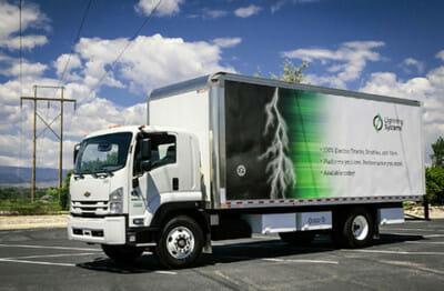 Lightning Electric GM 6500 XD truck