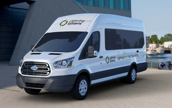 Ford Transit 350HD. EV conversion makes a great platform even better.