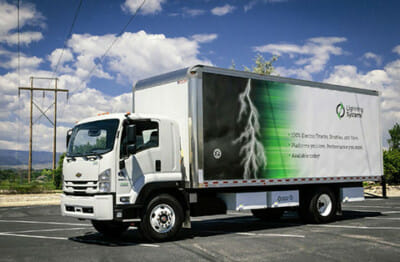 Lightning Electric GM 6500 XD truck