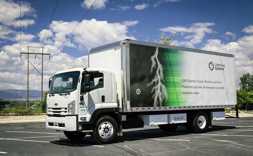 Lightning Electric Chevrolet 6500XD truck