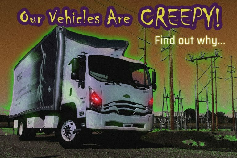 Our vehicles are creepy…