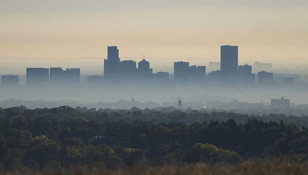 Denver smog