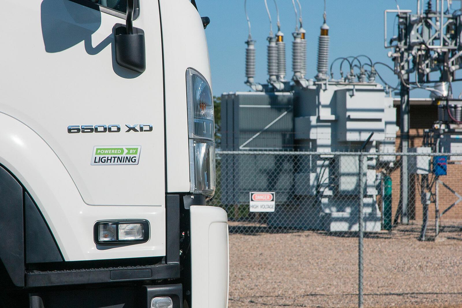 Lightning eMotors electric truck