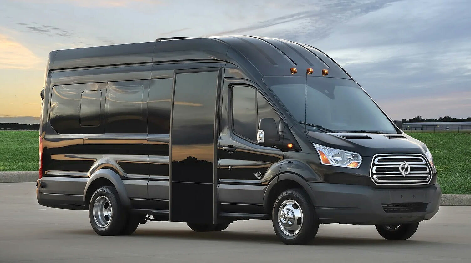Lightning Transit 350HD with bus door
