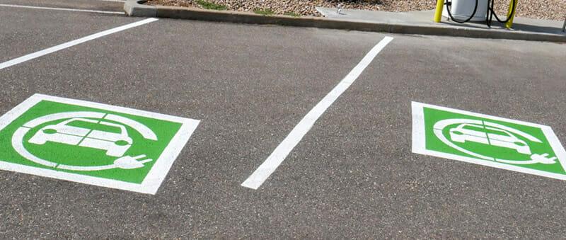 EV charging bays