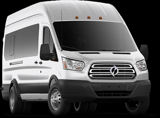 Lightning Electric Transit passenger van