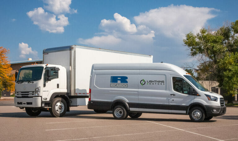 Lightning eMotors and Ricardo sign strategic partnership to provide commercial electric vehicles to United Kingdom customers